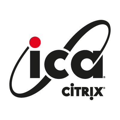 ICA Citrix vector logo