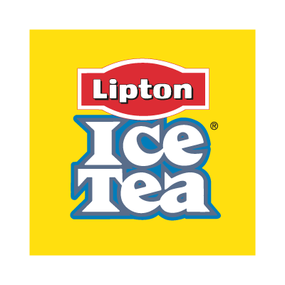 Ice Tea Lipton vector logo