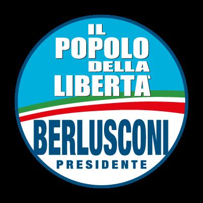 Il popolo della Liberta vector logo