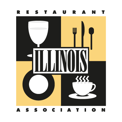 Illinois Restaurant Association vector logo