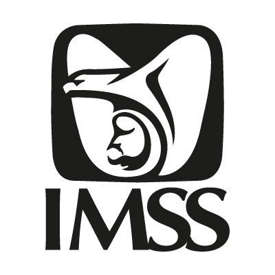 IMSS black vector logo