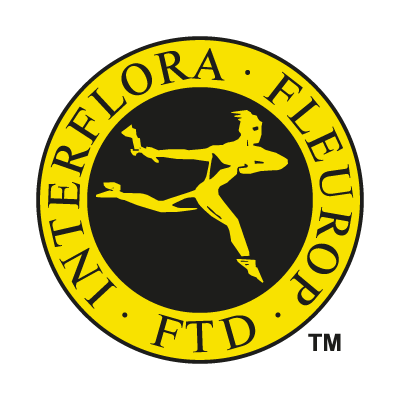 Interflora Fleurop vector logo