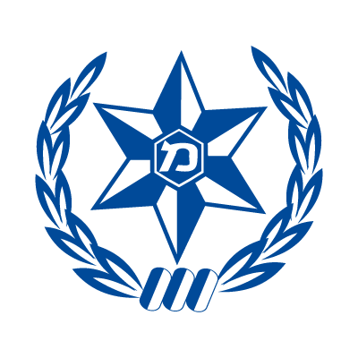 Israel police vector logo