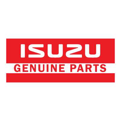 Isuzu genuine Parts vector logo