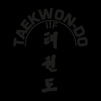 ITF Taekwon vector logo