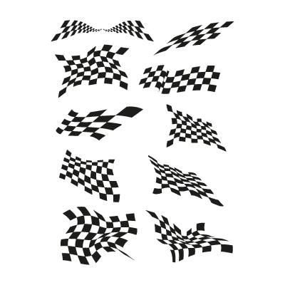 Jacket flags logo