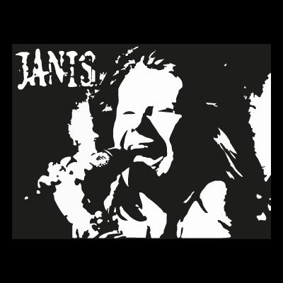Janis Joplin vector logo