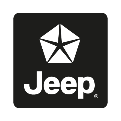 Jeep black vector logo