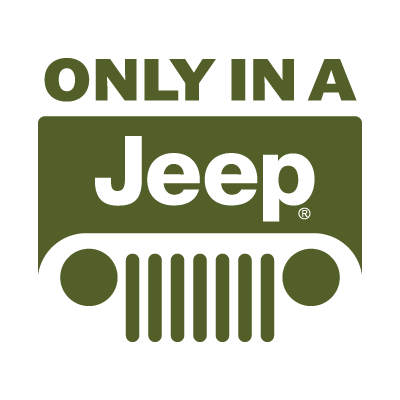 Jeep only in a vector logo
