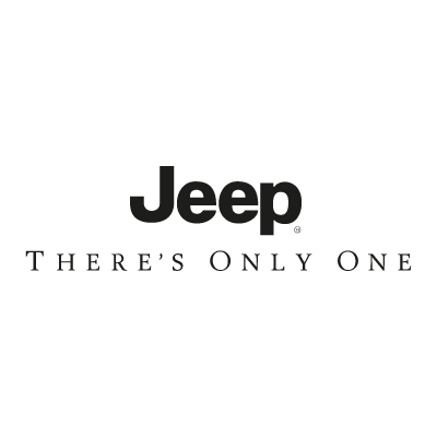 Jeep There's Only Once logo