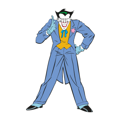 Joker from Batman vector logo