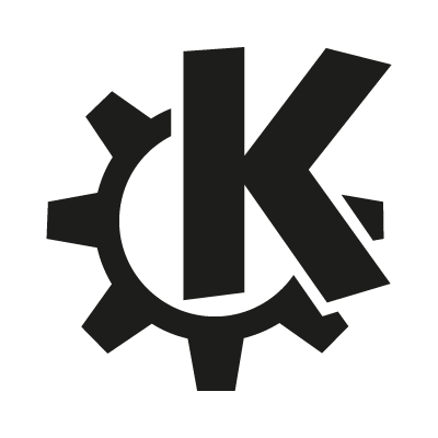 K Desktop Environmen vector logo