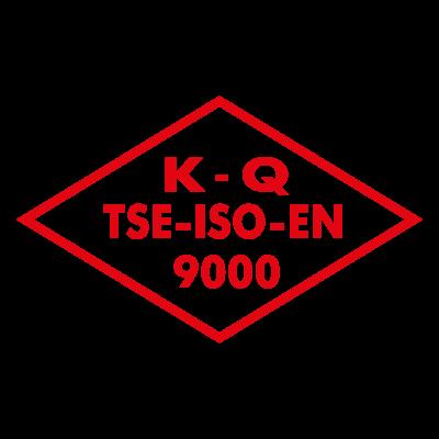 K Q TSE ISO EN 9000 logo