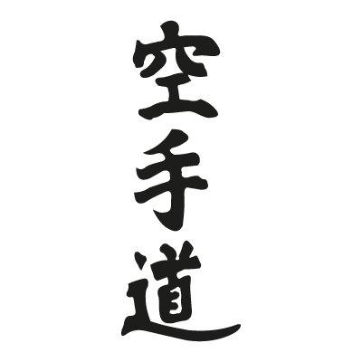 Kanji Karate-Do vector logo