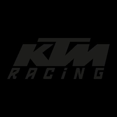 KTM Racing black logo