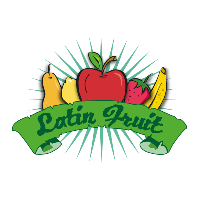 Latin Fruit vector logo