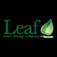 Leaf vector logo download free