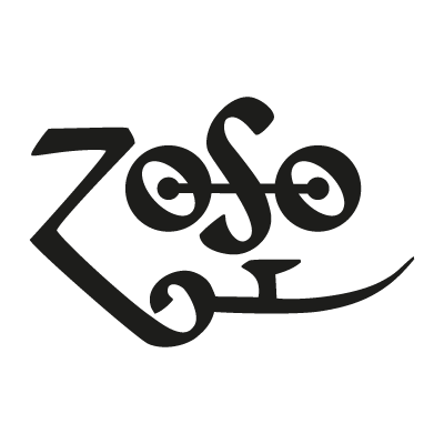 Led Zeppelin - Zoso vector logo