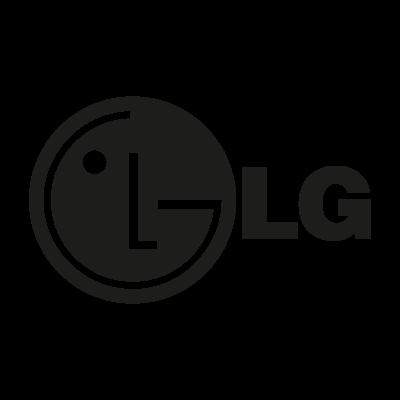 LG black logo
