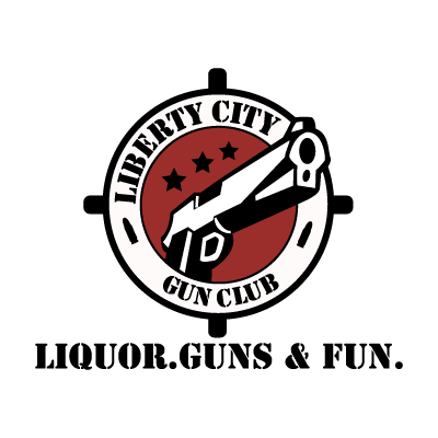 Liberty City Gun Club vector logo