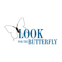 Look For The Butterfly vector logo