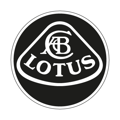Lotus black vector logo