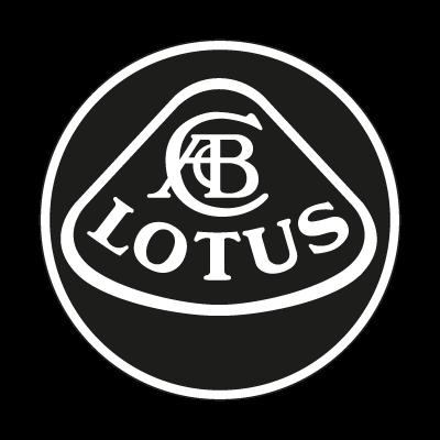 Lotus black vector logo