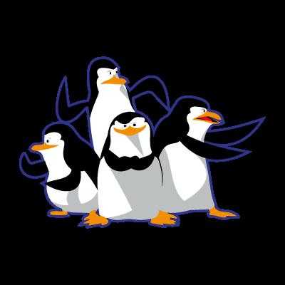 Madagascar pinguinos penguins logo