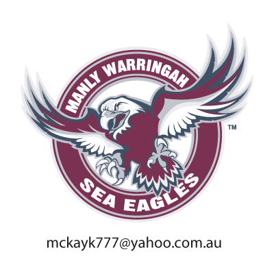 Manly Warringah Sea Eagles vector logo