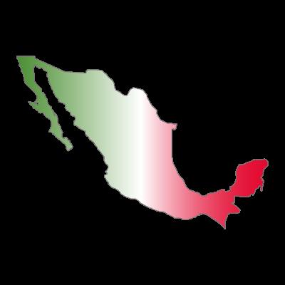 Mapa de Mexico logo