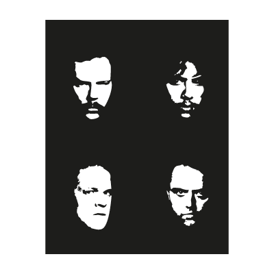 Metallica faces vector