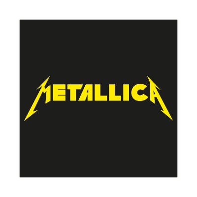 Metallica Music Band vector logo