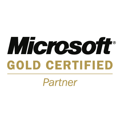 Microsoft Gold Certified Partner vector logo