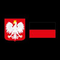 Flag of Poland vector logo free