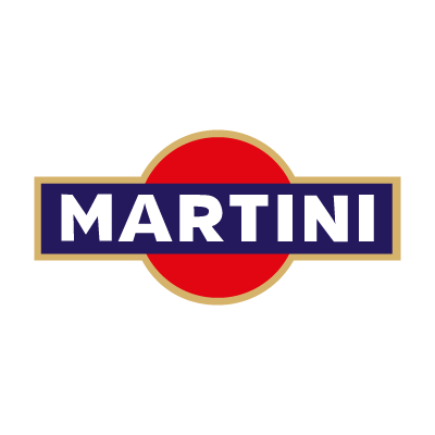 Martini (cocktail) vector logo