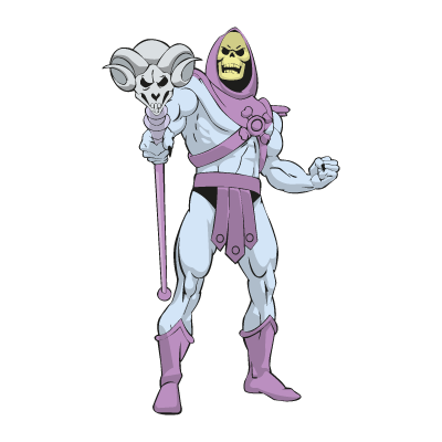 Master of the Universe - skeletor logo