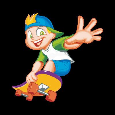 Menino No Skate logo