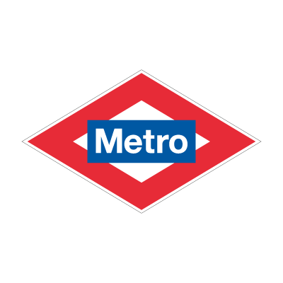Metro Madrid vector logo