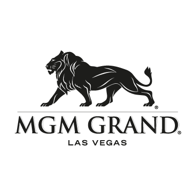MGM Grand black vector logo