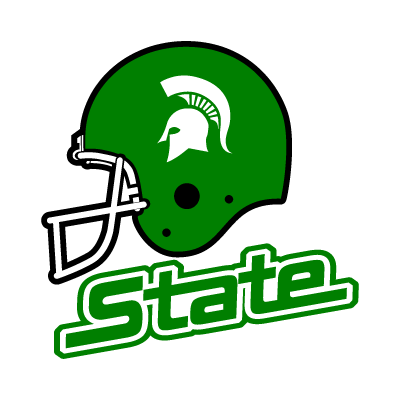 Michigan State Spartans Helmet vector logo