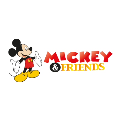 Mickey & Friends logo