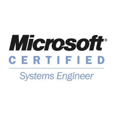 Microsoft Certified Systems Engineer vector logo