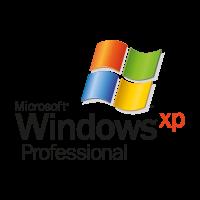 Microsoft Windows XP Professional vector logo free
