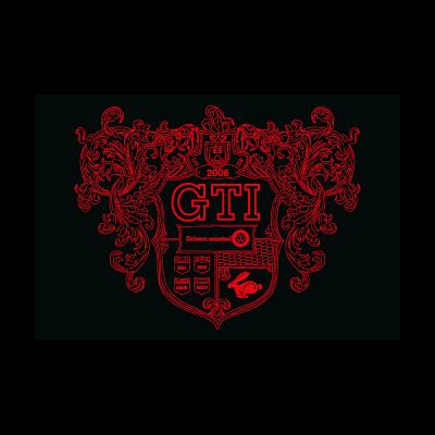 MkV GTI Crest vector logo