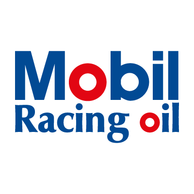 Mobil Racing oil vector logo