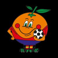 Naranjito Mundial vector logo download free