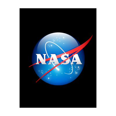 NASA 3D vector logo