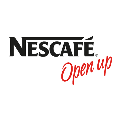 Nescafe Open up vector logo