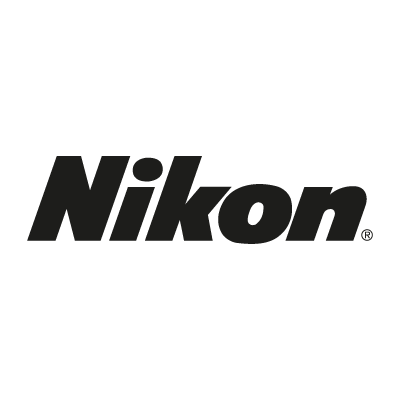 Nikon black vector logo