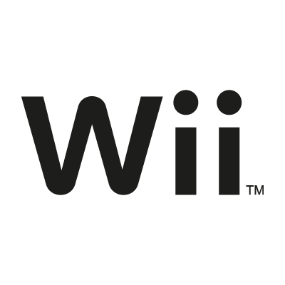 Nintendo Wii black vector logo